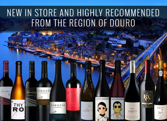 NEW IN STORE AND HIGHLY RECOMMENDED from the region of Douro