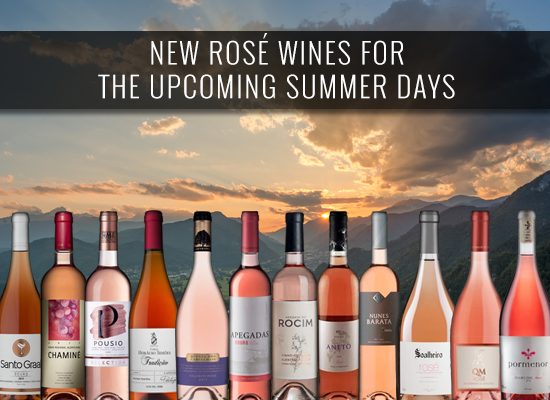 New Rosé wines for the upcoming Summer days