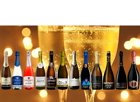 Great selection of Sparkling Wines for the upcoming sunny days