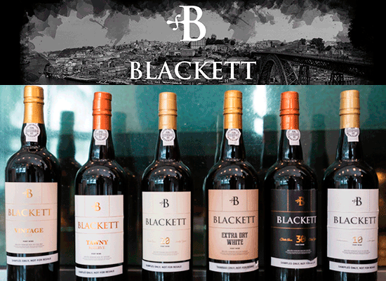 11% OFF: Limited promotion on the Blackett Port Wines