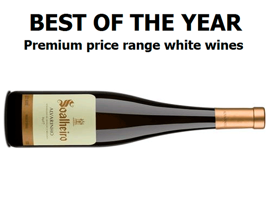 Best of the year: Premium price range white wines - above €10