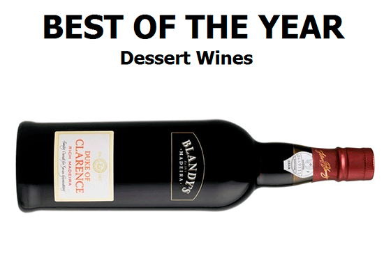 Best of the year: Dessert Wines