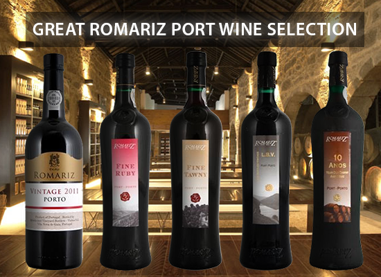 The Romariz Port Wines from David Guimaraens are the guests of our House of Port.