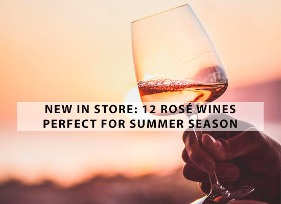 NEW IN STORE: 12 Rosé wines perfect for Summer season