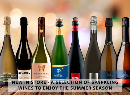 NEW IN STORE  – A selection of Sparkling Wines to enjoy the Summer season