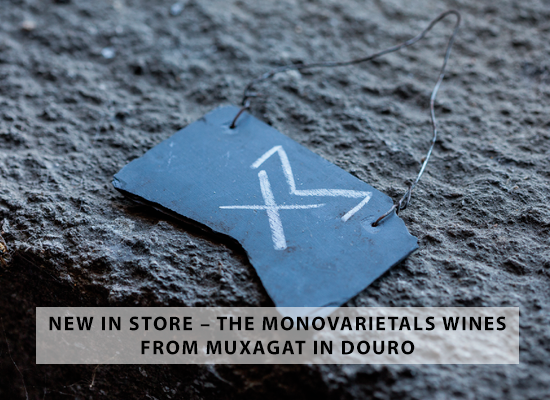 NEW IN STORE – The monovarietals wines from Muxagat in Douro